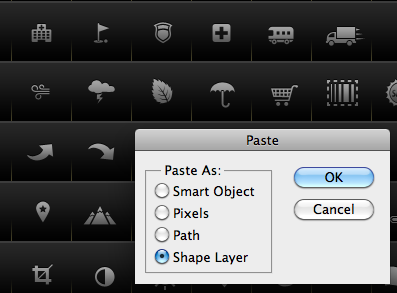 use shape layers or smart objects