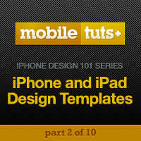 iPhone and iPad Design Templates and How to Use Them