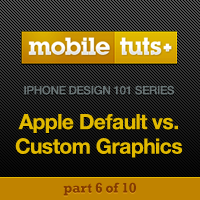 Apple Default vs. Custom Graphics