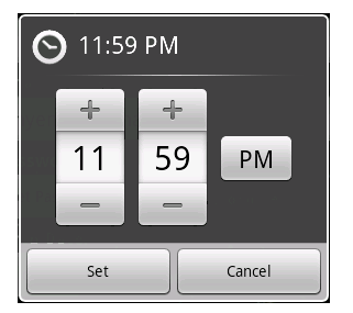 Time Picker
