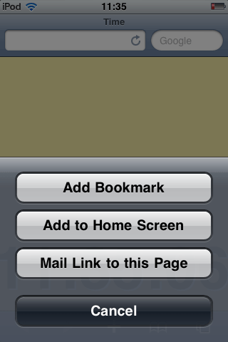 Build an iPhone Web App