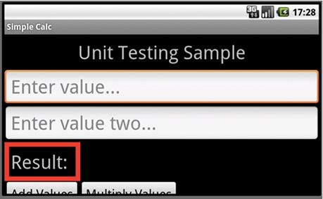 JUnit Testing Sample