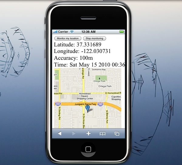 HTML5 Geolocation Maps API
