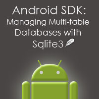 Android SDK: Managing Multi-Table Sqlite3 Databases