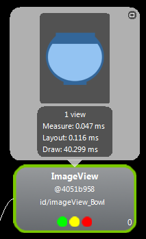 Screen #1: Inspecting an ImageView control