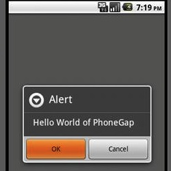 "Creating an Android ""Hello World"" Application with PhoneGap"