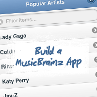 Build a MusicBrainz App