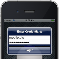 iOS 5 SDK: UIAlertView Text Input and Validation