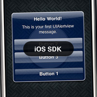 iOS SDK: Working with UIAlertView and UIAlertViewDelegate 