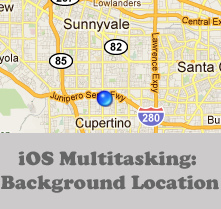 iOS Multitasking: Background Location
