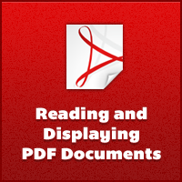 Reading & Displaying PDF Documents