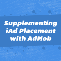Supplementing iAd Placement with AdMob