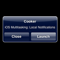 iOS Multitasking: Local Notifications