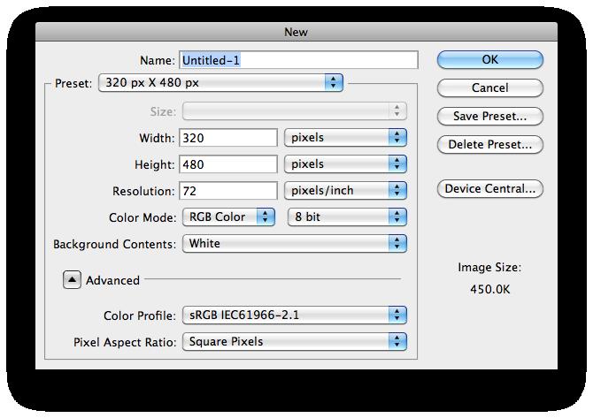 02 Template chuẩn để thiết kế trên iPhone and iPad & làm thế nào để sử dụng chúng?