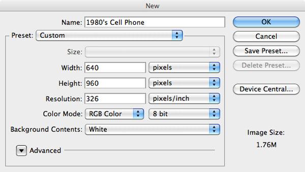 Создаем дизайн приложения на iPhone 80' *