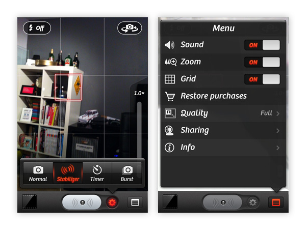 iOS Design Roundup: 5 Great Camera Applications