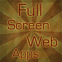 Full Screen Web Apps