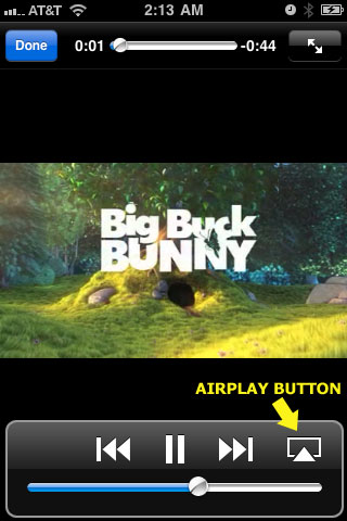 AirPlay Button