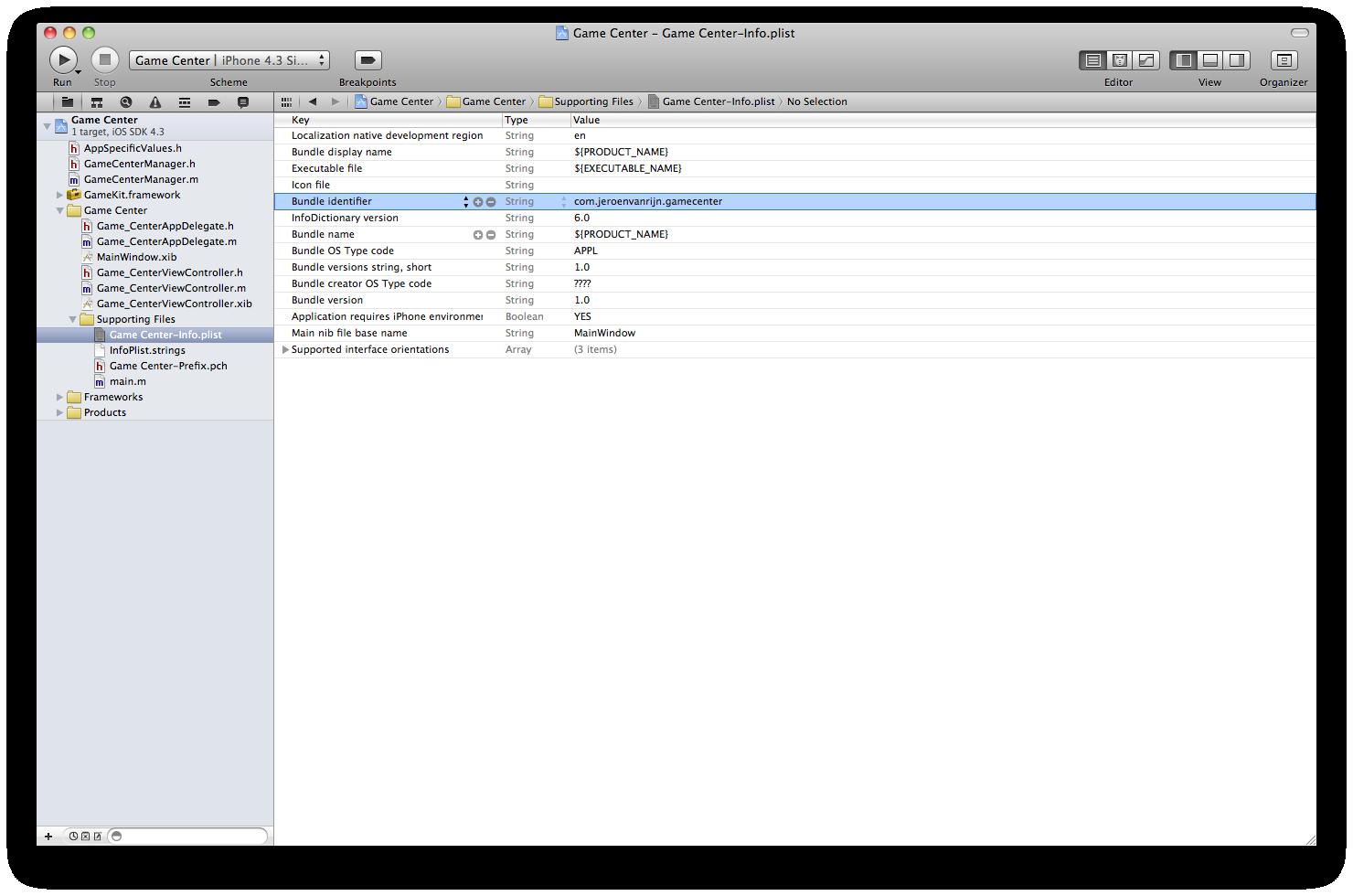 actualizar el identificador de paquete