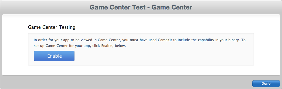 Gestionar GameCenter