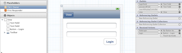 Designing the Login View
