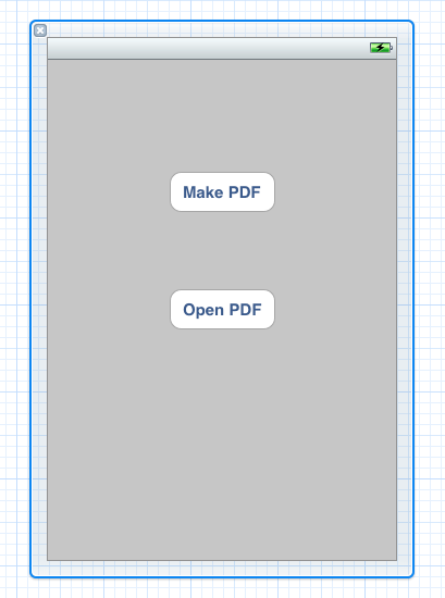 New 'Make PDF' Button