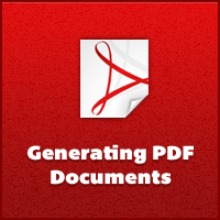Generating PDF Documents