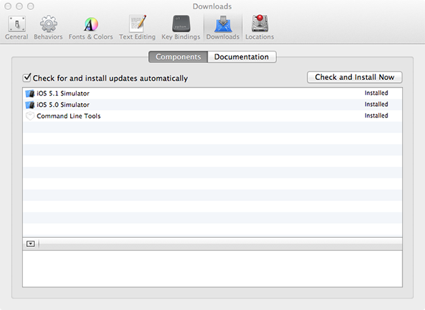 Additional Xcode Downloads