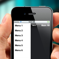 Titanium Mobile: Create a Sliding Menu for iOS